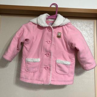ミキハウス(mikihouse)の100cm ミキハウス コート うさこちゃん ピンク(コート)