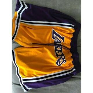 ミッチェルアンドネス(MITCHELL & NESS)の正規 Just Don shorts Lakers(ショートパンツ)