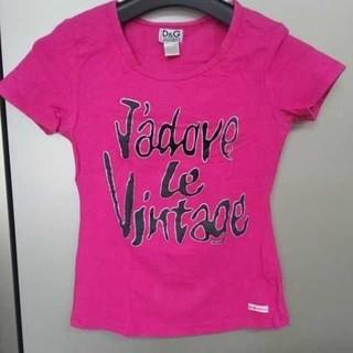 ドルチェアンドガッバーナ(DOLCE&GABBANA)のDOLCE&GABBANA【S】Tシャツ(Tシャツ(半袖/袖なし))