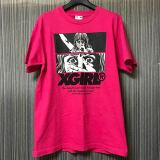 X-girl - X-girl  楳図かずお Tシャツ ピンク