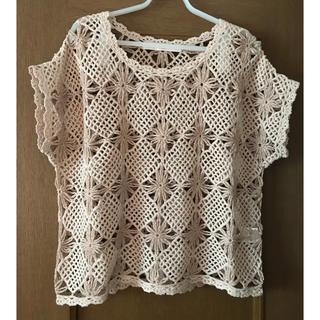 SHIPS - SHIPS 透かし編みセーター