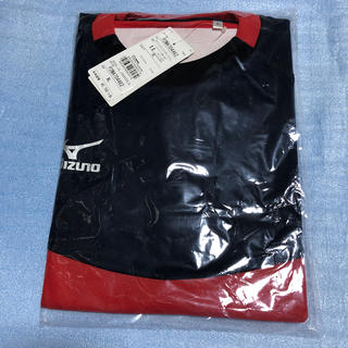 MIZUNO - ミズノ XL  赤 ショートスリーブ 半袖 サッカー スポーツ