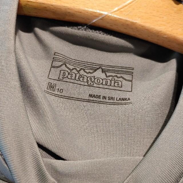 patagonia(パタゴニア)のキッズ★Patagonia キャプリーン Tee サイズM キッズ/ベビー/マタニティのキッズ服男の子用(90cm~)(Tシャツ/カットソー)の商品写真
