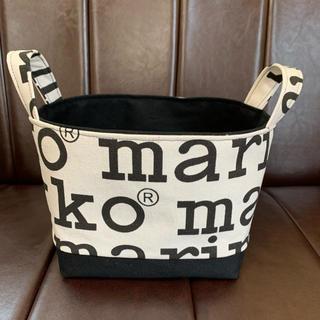 マリメッコ(marimekko)の布バスケット ハンドメイド マリメッコ (雑貨)