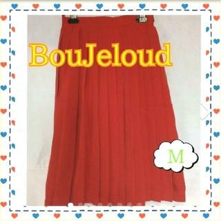 ブージュルード(Bou Jeloud)のBouJeloud スカート 定価4900円(80)(ひざ丈スカート)