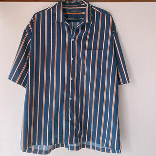 RAGEBLUE - RAGE BLUE ストライプ柄 シャツ