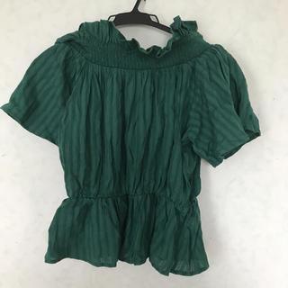 スピンズ(SPINNS)のオフショルトップス 半袖 フリーサイズ(Tシャツ(半袖/袖なし))
