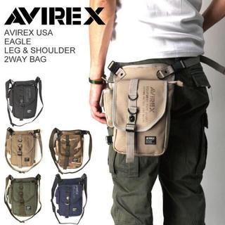 アヴィレックス(AVIREX)の☆ 即決 新品 最安値 AVIREX EAGLE レッグバッグ avx348 ☆(ショルダーバッグ)
