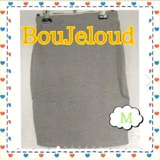 ブージュルード(Bou Jeloud)のBouJeloud スカート 定価5900(81)(ひざ丈スカート)