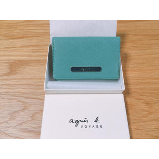 agnes b. - 新品未使用 アニエスベー 名刺入れ カード入れ 定期入れ