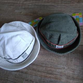 アンパサンド(ampersand)の新品タグ付き ベビー キッズ 帽子 お揃い(帽子)