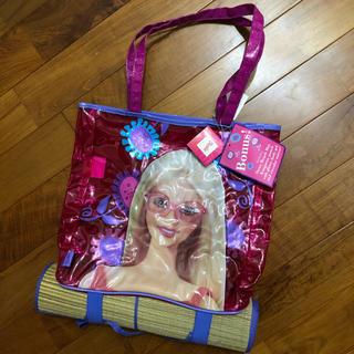 バービー(Barbie)のバービー Barbie ビーチバッグ ビニールバッグ(ショルダーバッグ)