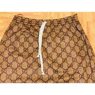 グッチ(Gucci)の●GUCCIグッチGG柄テクニカルジャージスカートM(ロングスカート)