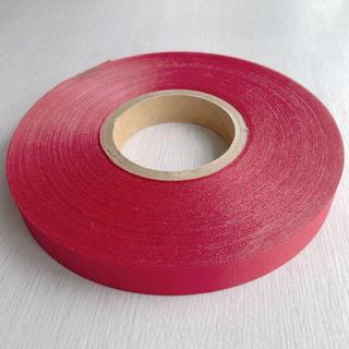 サテンリボン 赤 15mm幅×100m巻(カード/レター/ラッピング)