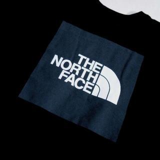 THE NORTH FACE - ノースフェイス*US:XL/ブラック_グレー/ボックスロゴプリント長袖T