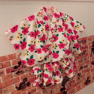 シマムラ(しまむら)の花柄 セパレート浴衣(甚平/浴衣)
