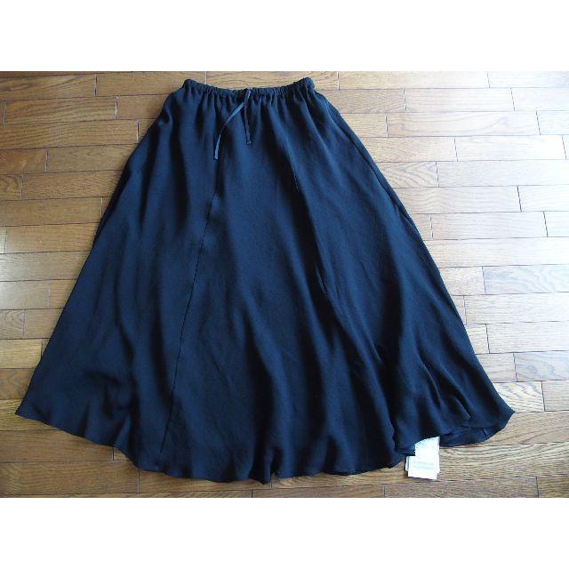 Plage(プラージュ)の新品タグ付き Plage Crepe ギャザーロングスカート 36 レディースのスカート(ロングスカート)の商品写真