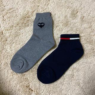 コムデギャルソン(COMME des GARCONS)の靴下 2足セット(ソックス)