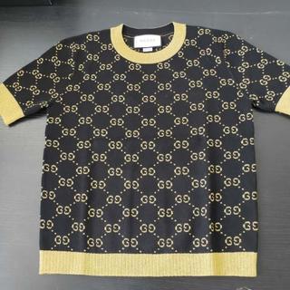 グッチ(Gucci)の安室奈美恵さん着用★GUCCI★GGスプリーム 半袖セーター(ニット/セーター)