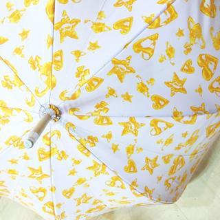 ヴィヴィアンウエストウッド(Vivienne Westwood)のヴィヴィアン 傘 オーブ ハート 柄 18615855(傘)