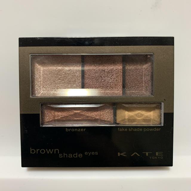 KATE(ケイト)のKATE ブラウンシェードアイズN BR-3 コスメ/美容のベースメイク/化粧品(アイシャドウ)の商品写真