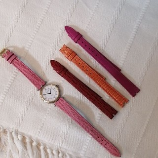 ヴァンクリーフアンドアーペル(Van Cleef & Arpels)のヴァンクリーフ&アーペル ラコレクション 腕時計 コンビベゼル クォーツ(腕時計)