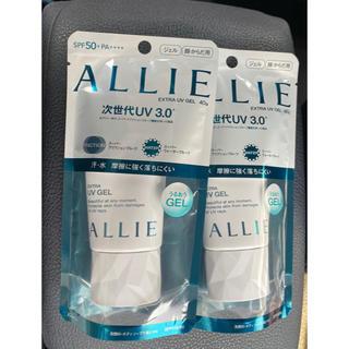 アリィー(ALLIE)のアリー  日焼け止め ジェル 2個 40g(日焼け止め/サンオイル)