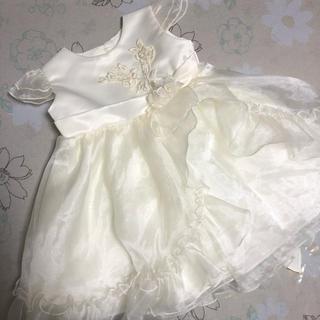 キャサリンコテージ(Catherine Cottage)のK.I.D collection ☆ベビー ホワイト セレモニードレス 80(セレモニードレス/スーツ)