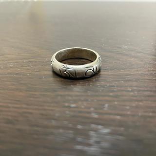 マルタンマルジェラ(Maison Martin Margiela)のビンテージ vintage ring リング刻印有り(リング(指輪))