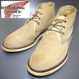 REDWING - 定価3.5万円【RED WING】3143 ブーツ メンズ スエード 春 夏 雨
