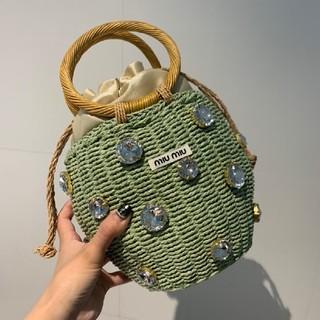 miumiu - 超美品Miumiu ミュウミュウ トートバッグ  ξ(✿ ❛‿❛)ξ レディース