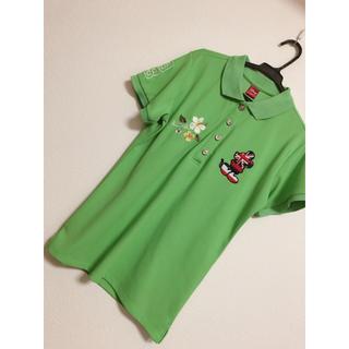ディズニー(Disney)のディズニーポロシャツ ゴルフウェア(ポロシャツ)