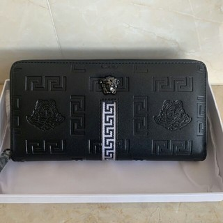 ヴェルサーチ(VERSACE)のVersace 長財布 ブラック(長財布)