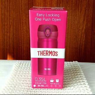 サーモス(THERMOS)の【新品】0.35L クランベリー 真空断熱ケータイマグ(水筒)  サーモス(タンブラー)