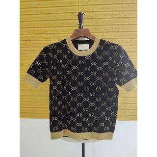 グッチ(Gucci)の安室奈美恵さん着用★GUCCI★GGスプリーム 半袖セーター(Tシャツ(半袖/袖なし))