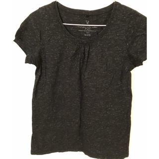 イッカ(ikka)のikka キラキラ ラメ Tシャツ トップス 美品 送料込(カットソー(半袖/袖なし))