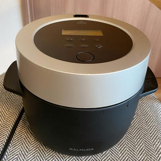 バルミューダ(BALMUDA)のバルミューダ蒸気炊飯器(炊飯器)