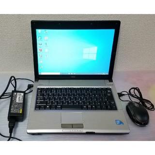 NEC - NEC ノートパソコン Windows10 エクセル ワード DVDマルチ