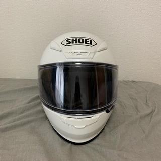 ショウエイシャ(翔泳社)のSHOEI フルフェイス ヘルメット z-7 ルミナスホワイト sサイズ(ヘルメット/シールド)