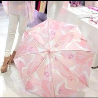 レディー(Rady)の送料込み rady キティコラボ ミルフルール柄 傘(傘)