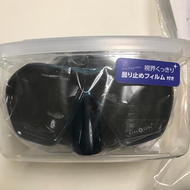 Aqua Lung(アクアラング)のAQUA LUNG 新品未使用品 マスク&シュノーケル スポーツ/アウトドアのスポーツ/アウトドア その他(マリン/スイミング)の商品写真