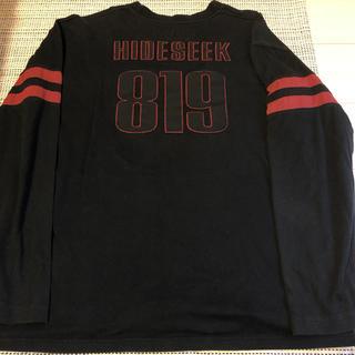 グッドイナフ(GOODENOUGH)の初期 HIDE AND SEEK フットボールT 819 ワンオンスRANDOM(Tシャツ/カットソー(七分/長袖))