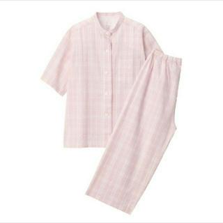 ムジルシリョウヒン(MUJI (無印良品))の無印良品 脇に縫い目のない サッカー織り半袖パジャマ(パジャマ)