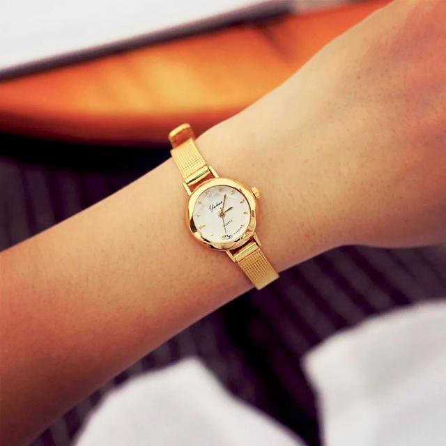 ジュエリーウォッチ [import] 腕時計 新品 ゴールド 匿名発送 レディースのファッション小物(腕時計)の商品写真
