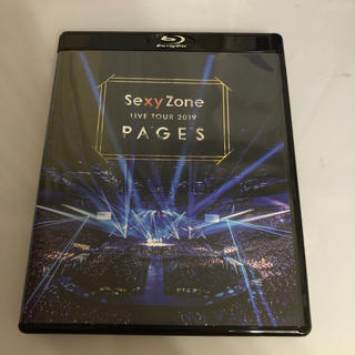 セクシー ゾーン(Sexy Zone)のSexy Zone LIVE TOUR 2019 PAGES(Blu-ray) (ミュージック)