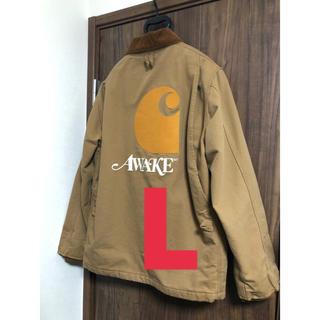 カーハート(carhartt)のCARHARTT AWAKE NY Michigan Chore Coat  L(カバーオール)