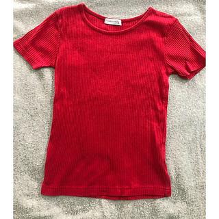 LA PERLA - コットンカットソー  Tシャツ 赤