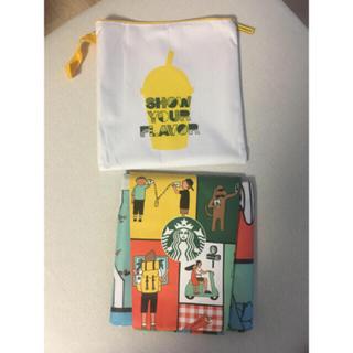 スターバックスコーヒー(Starbucks Coffee)の2018 韓国スタバ レジャーシート 非売品(日用品/生活雑貨)