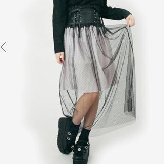 アンクルージュ(Ank Rouge)のアンクルージュ Ank Rouge チュールスカート(ロングスカート)