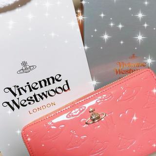 ヴィヴィアンウエストウッド(Vivienne Westwood)のVivienne Westwood 長財布 ピンク(長財布)